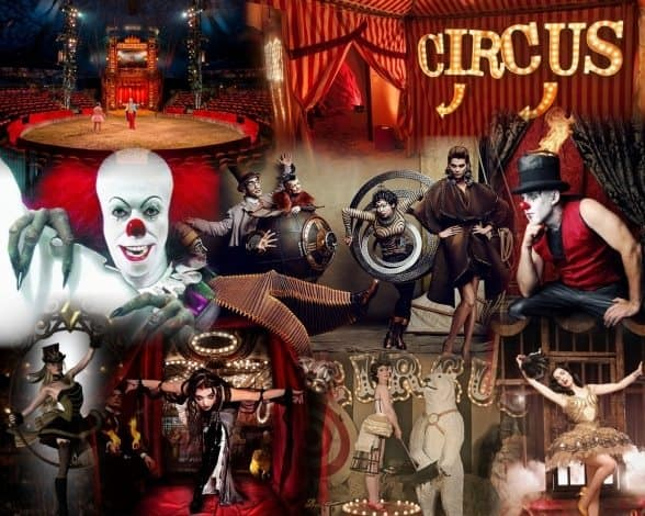 vintage circus photo booth hire green screen backgrounds