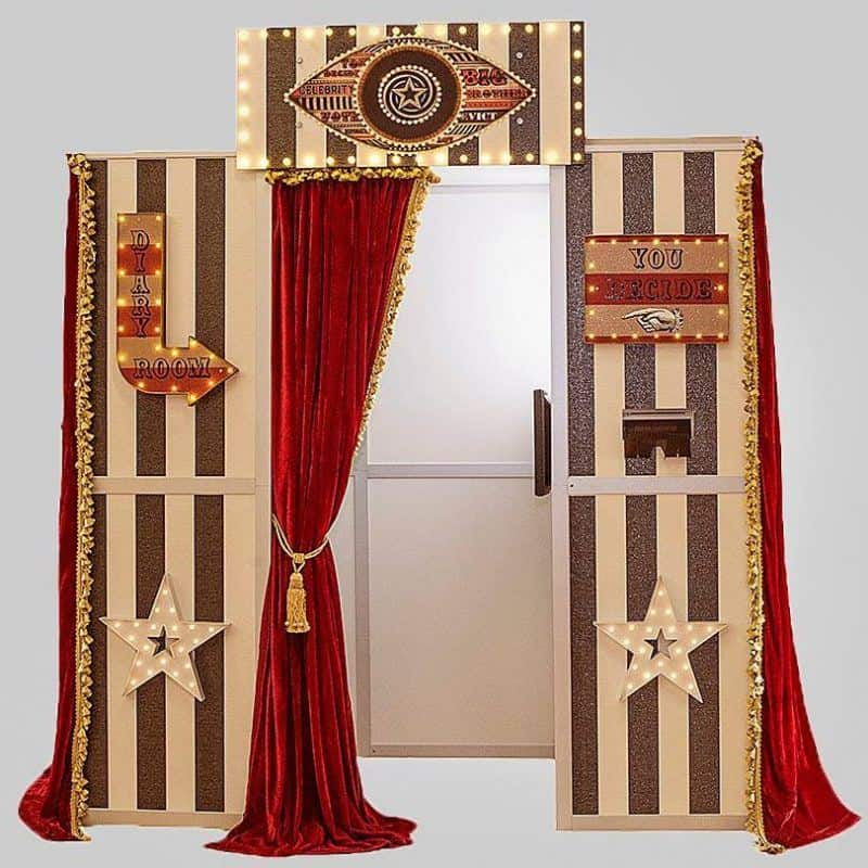 big brother diary room photo booth
