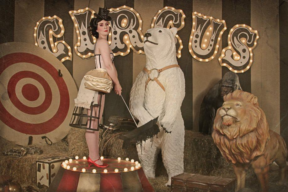 Vintage Circus Backgrounds 3