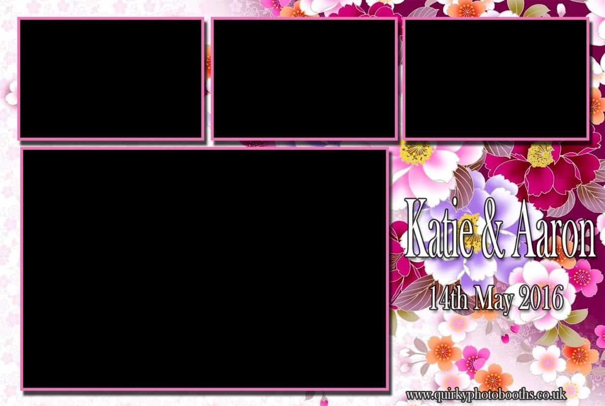 template for wedding booth