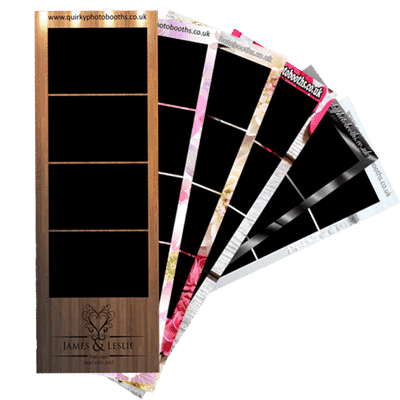 picture of the wedding photo booth hire strips