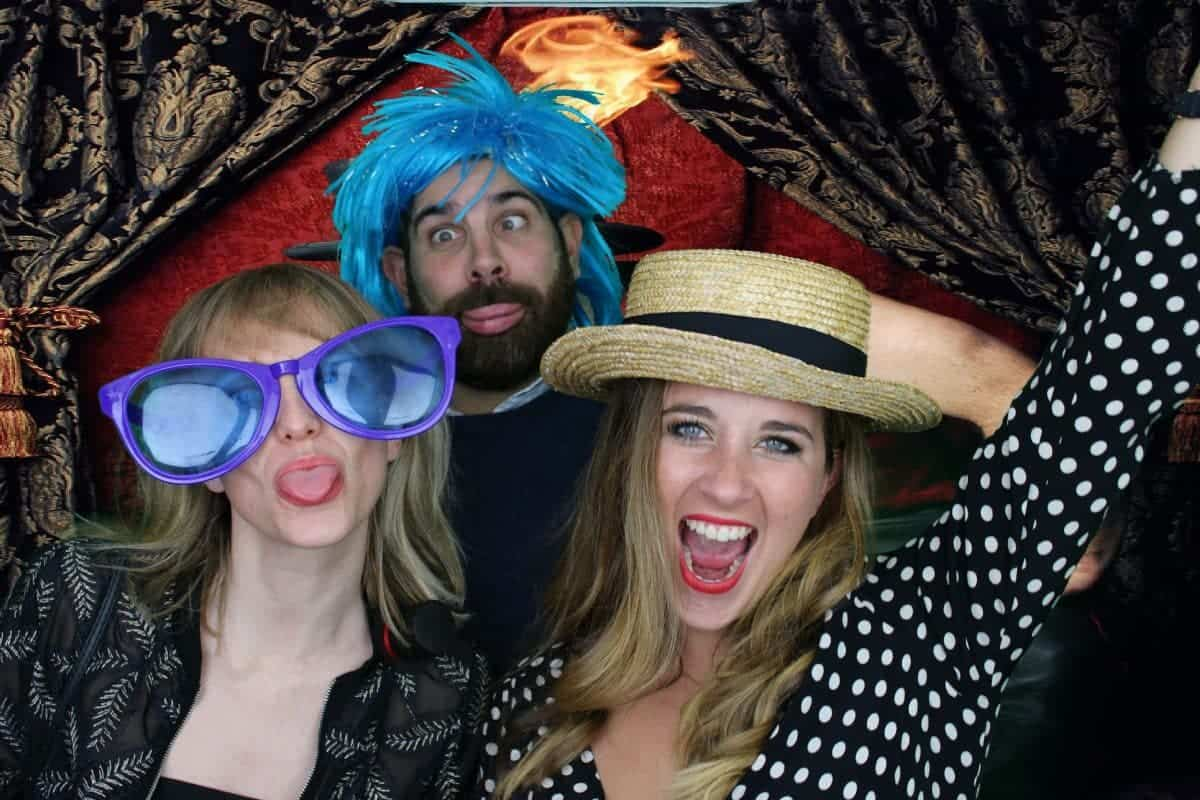 The Vintage Circus Photo Booth 1
