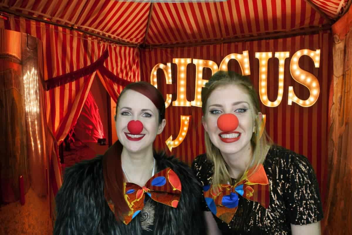The Vintage Circus Photo Booth 2