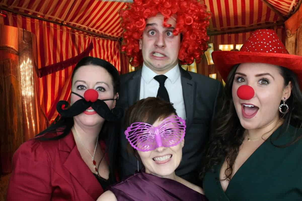 The Vintage Circus Photo Booth 3