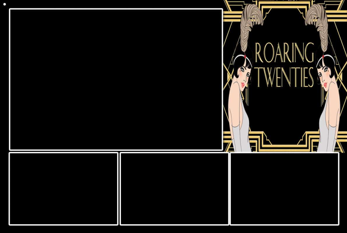 Gatsby Roaring 20's Photo Strips 4