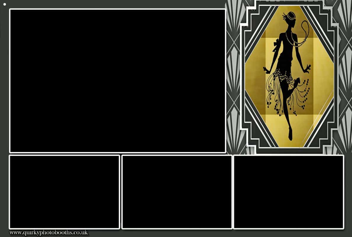 Gatsby Roaring 20's Photo Strips 8