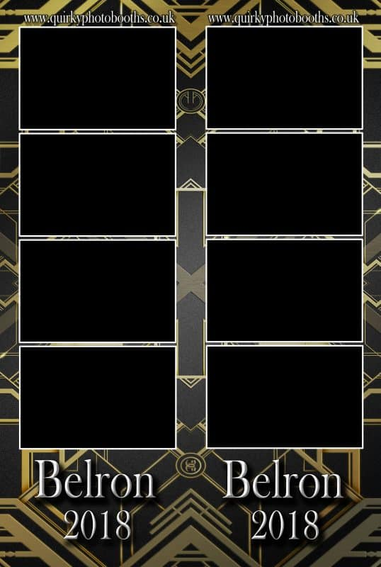 Gatsby Roaring 20's Photo Strips 10