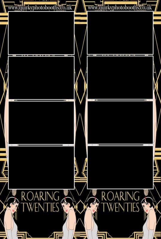 Gatsby Roaring 20's Photo Strips 12