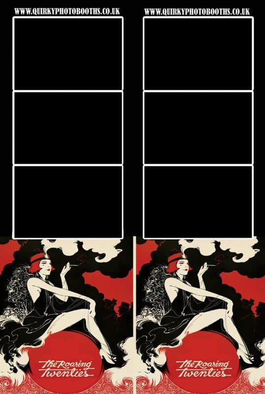 Gatsby Roaring 20's Photo Strips 13