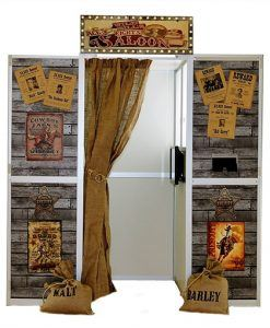 the wild west saloon bar photo booth