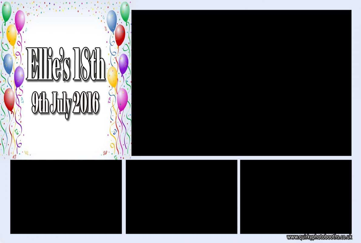 Party Booth Photo Strips 6