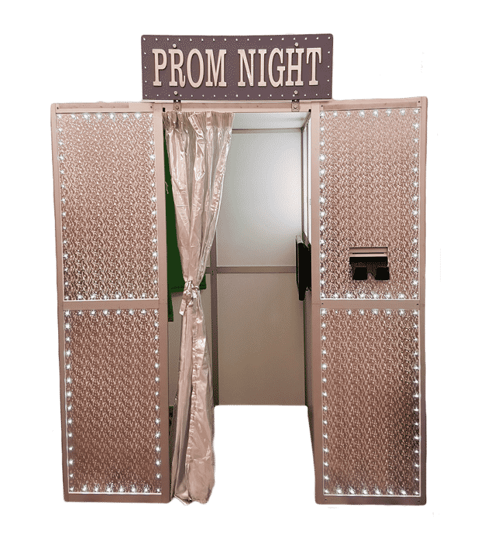 picture of prom night photo booth