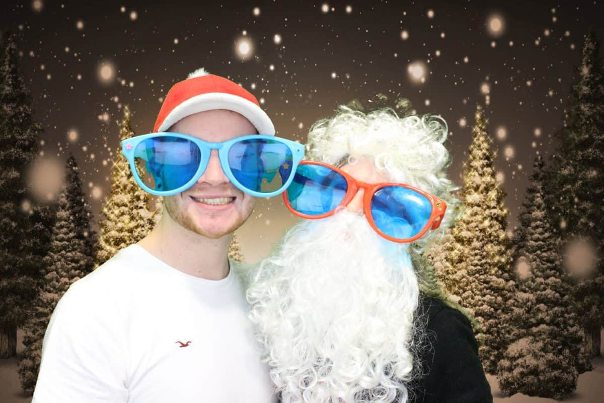 Christmas Photo Booth 1