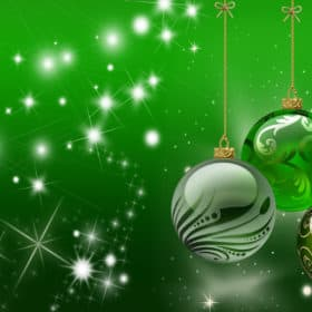 Christmas Green Screen Backgrounds 12