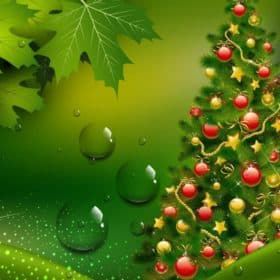 Christmas Green Screen Backgrounds 8